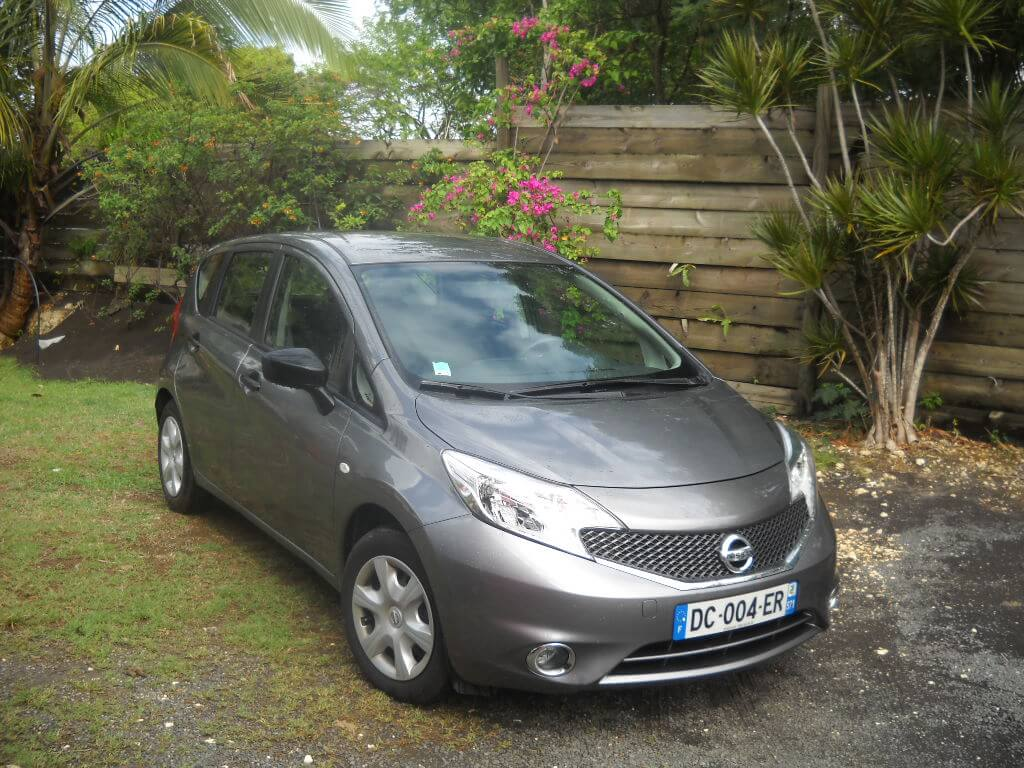 Photo voiture de location Nissan Note