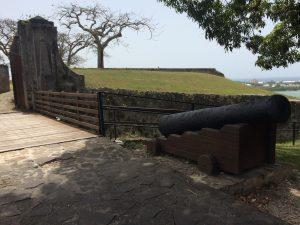 Canon de Fort Fleur d'épée Gosier