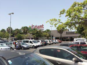 Centre commercial Géant de Bas Du Fort à Gosier