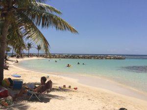 La plage communale de Sainte-Anne