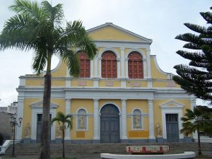 Cathédrale de la Place Gourbeyre à Pointe-à-Pitre