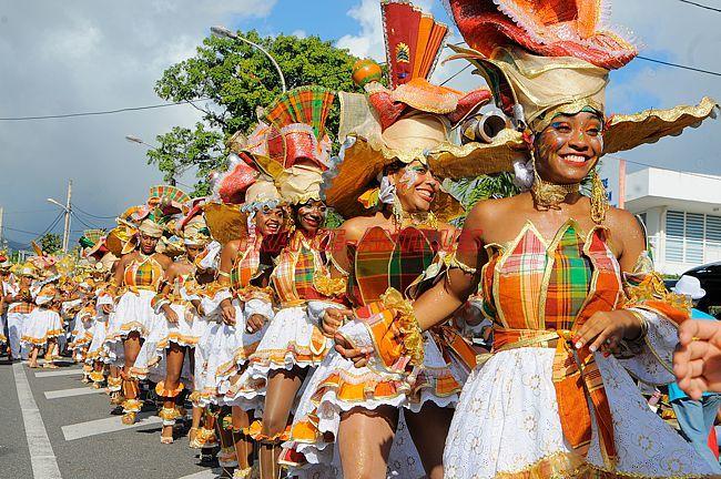 Défilé de carnaval en Guadeloupe 1