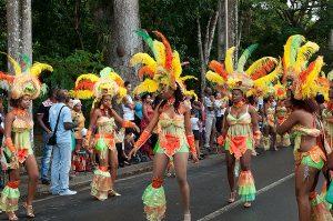 Défilé de carnaval en Guadeloupe
