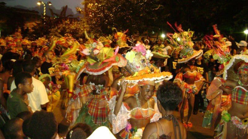 Défilé du carnaval en Guadeloupe