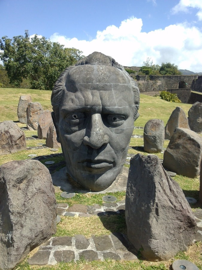 Fort Delgres, Basse-Terre visite guadeloupe rock monument