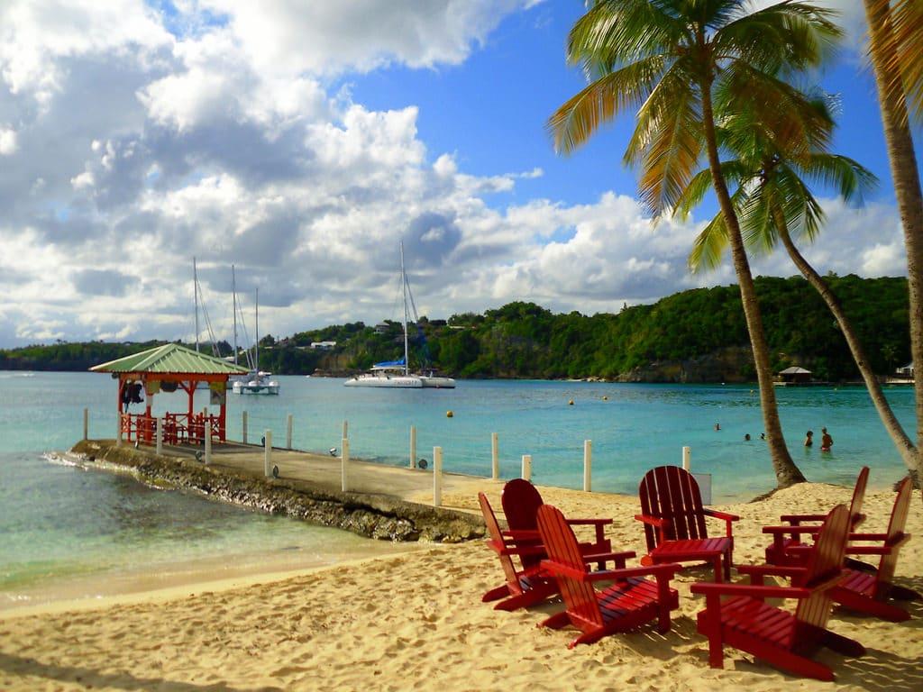 Découvrir les plages de Guadeloupe en road trip