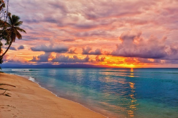coucher soleil guadeloupe